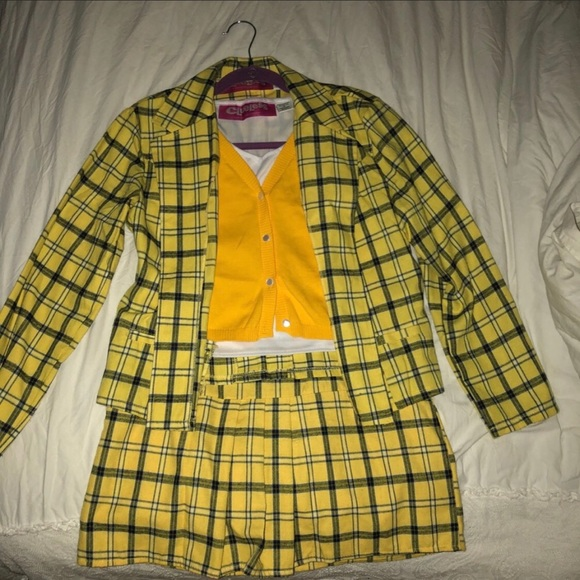 a732930d2d3 Dresses   Skirts - CLUELESS Cher Outfit Yellow Plaid